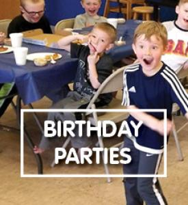 Birthday Parties Image Rotating Slider