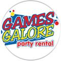 Games Galore Party Rental Logo for the About Us Feature Tab