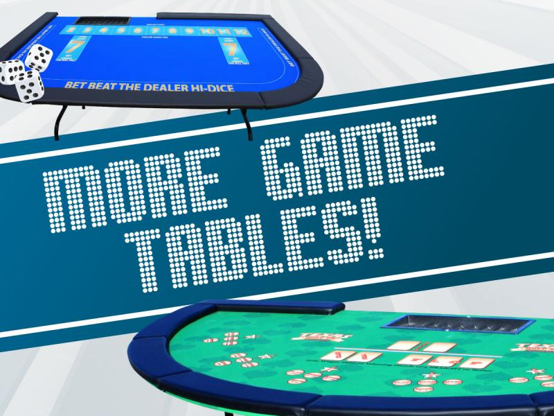 More Game Tables