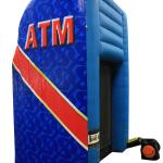 ATM Cash Cube Side and Back View Left