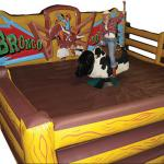 Mechanical Bull Corral Inflatable