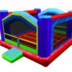 Space Saver Bounce House Perspective View