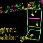 Blacklight Giant Ladder Golf Image