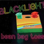 Blacklight Bean Bag Toss Set