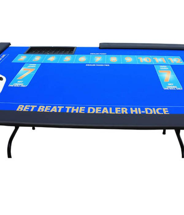 Beat the dealer table