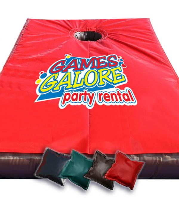 Giant Corn Hole Inflatable with bags