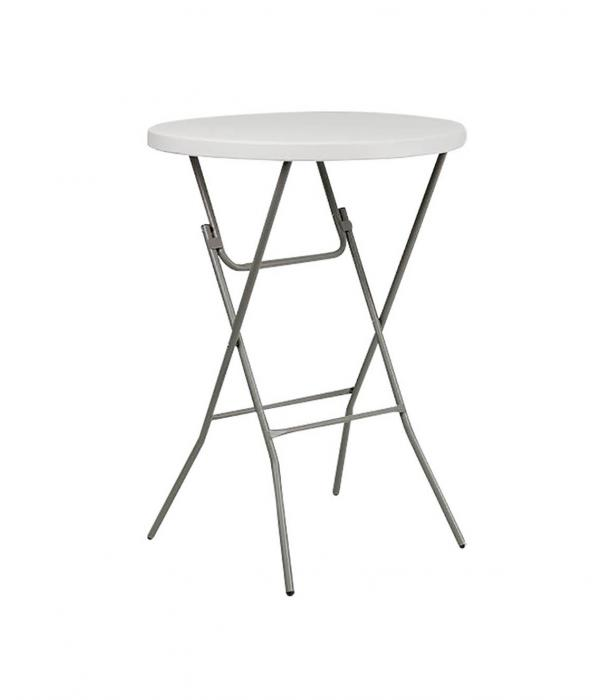 Bar Height Table for Rental Use that Folds