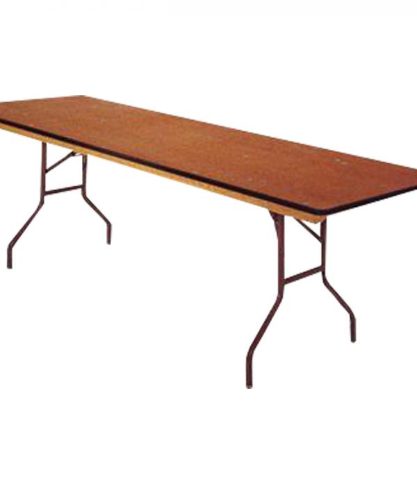 Table 8 Foot Rectangle Wood
