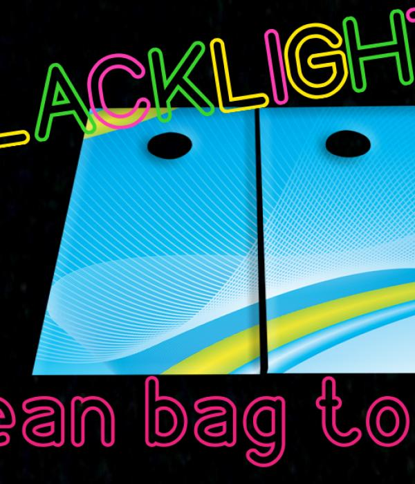 Blacklight Bean Bag Toss