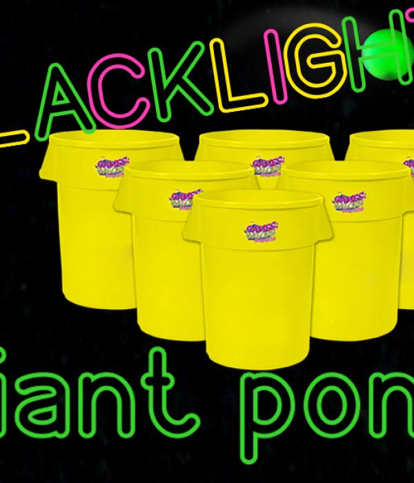 Blacklight Giant Pong