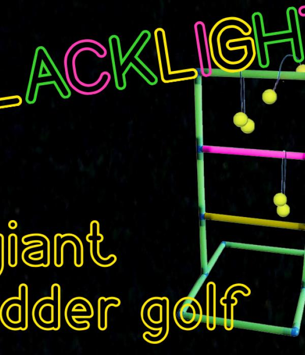 Blacklight Giant Ladder Golf